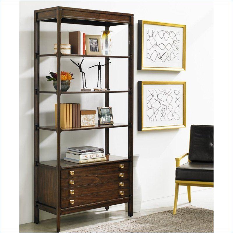 Exceptionnel Crestaire   Welton Bookcase In Porter   436 15 18   Stanley Furniture