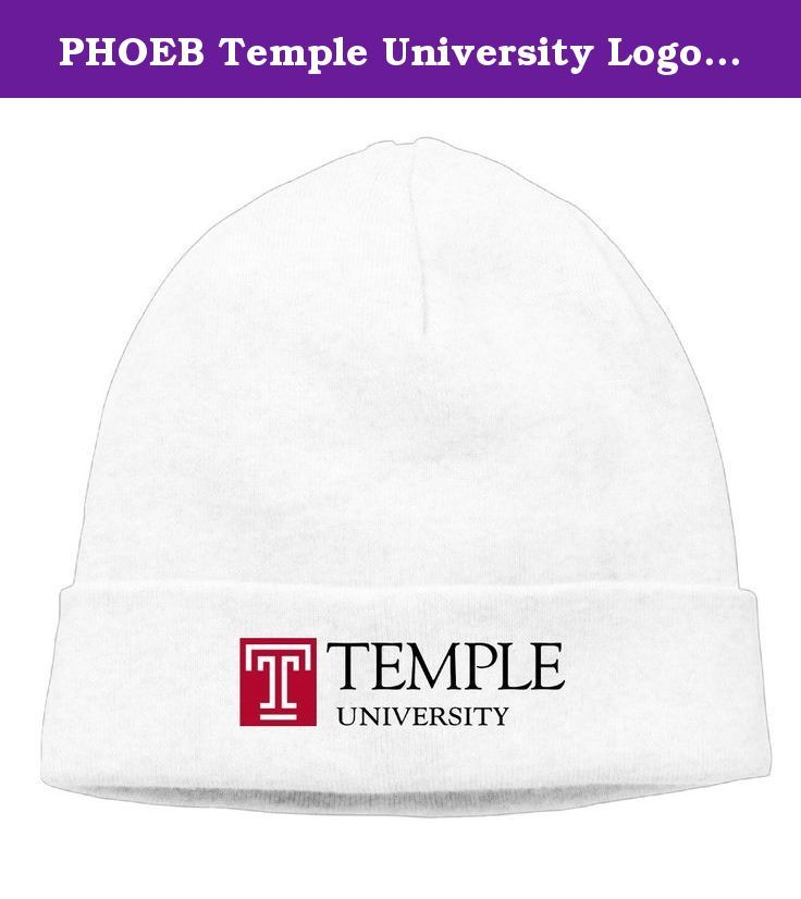 7f242948ad03d PHOEB Temple University Logo Men s   Women s Beanie Cap Hat Ski Hat Caps  Warm Winter Hat