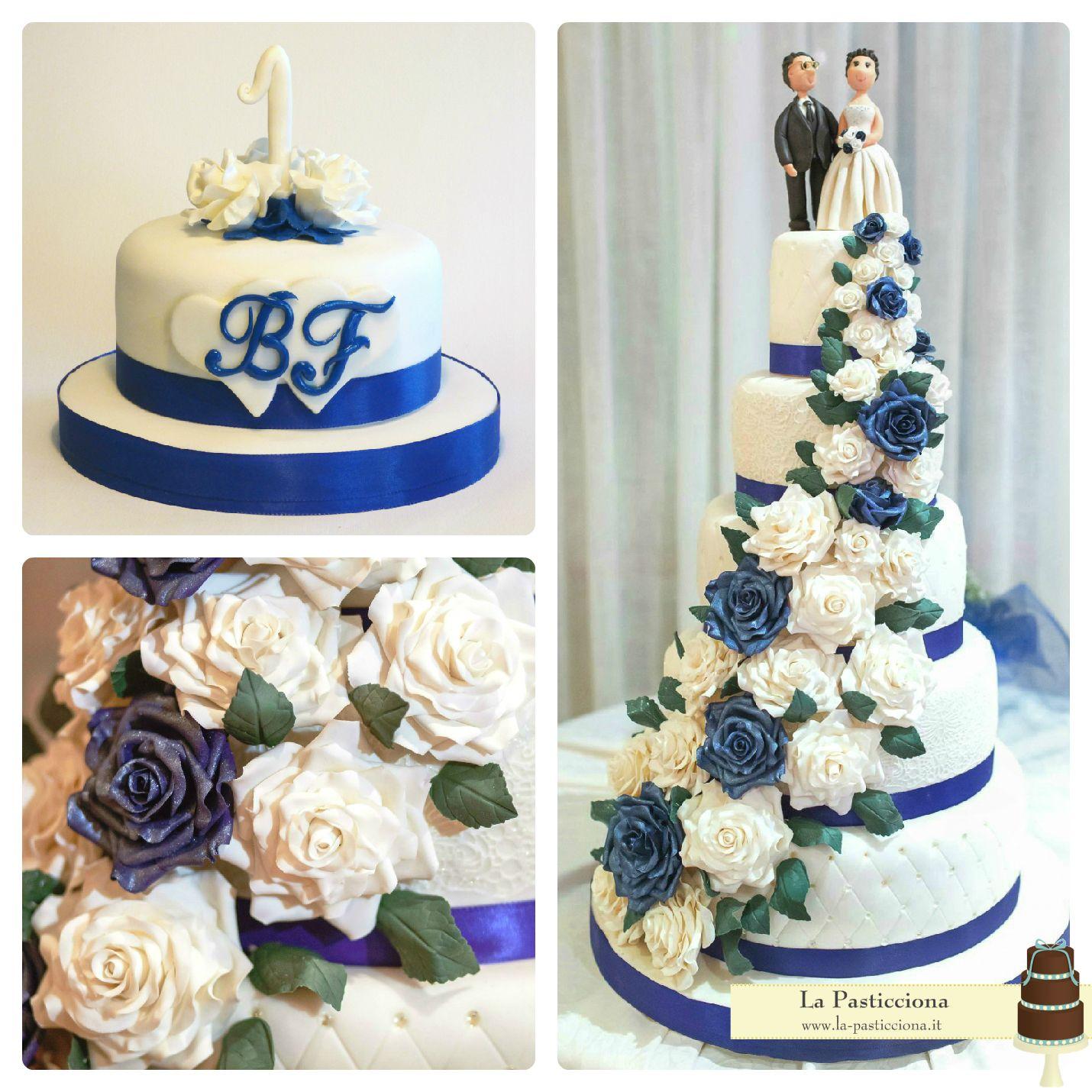 Torta Per Il Primo Anniversario Di Matrimonio In Tema Con La Torta Nuziale Cake Diaper Cake Desserts