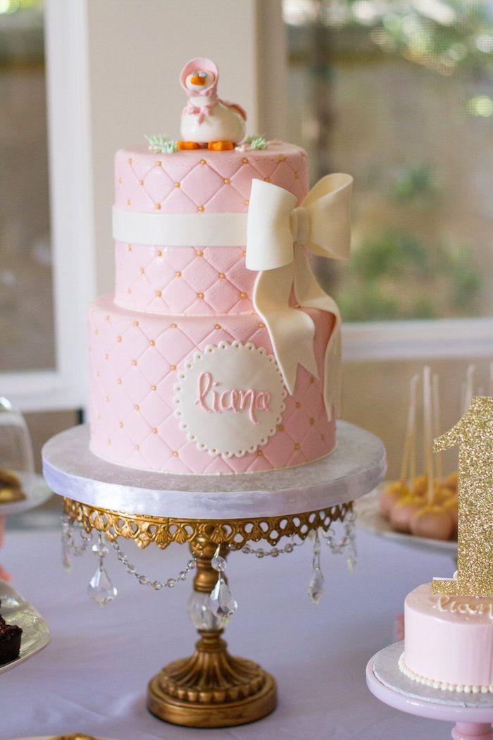 Elegant Mother Goose Birthday Party Bakery Cakes Pinterest