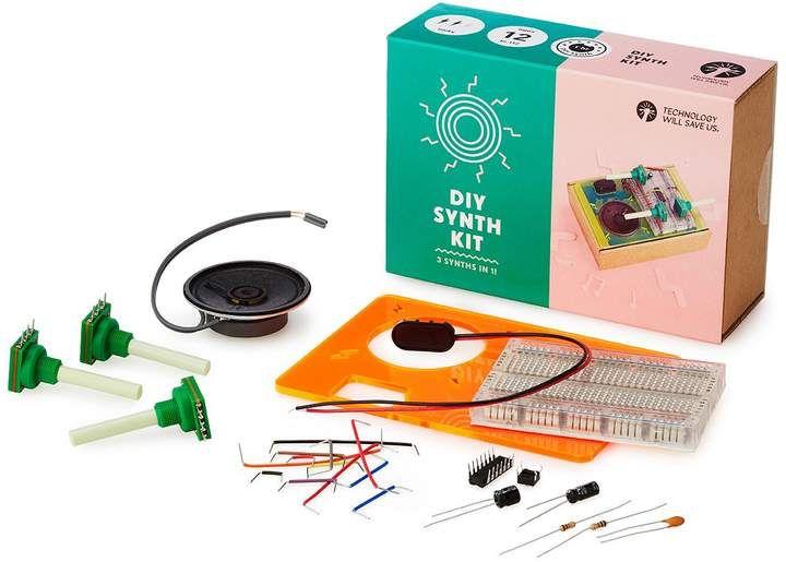Diy synth kit technology kit music lovers