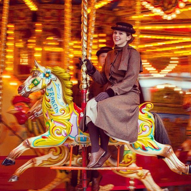The carousel is back in Bath! #BathChrismasMarket #festive #fun