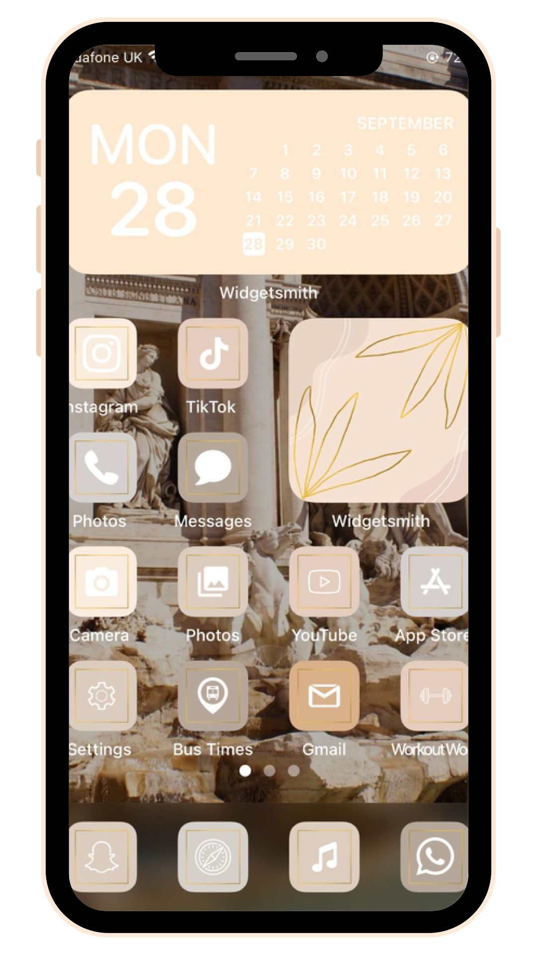Add the best aesthetics to your everyday life with our beautiful graphic flat icons for mobile apps. Neutral Aesthetic 75 iPhone iOS 14 App Icons iOS14 Widget ...