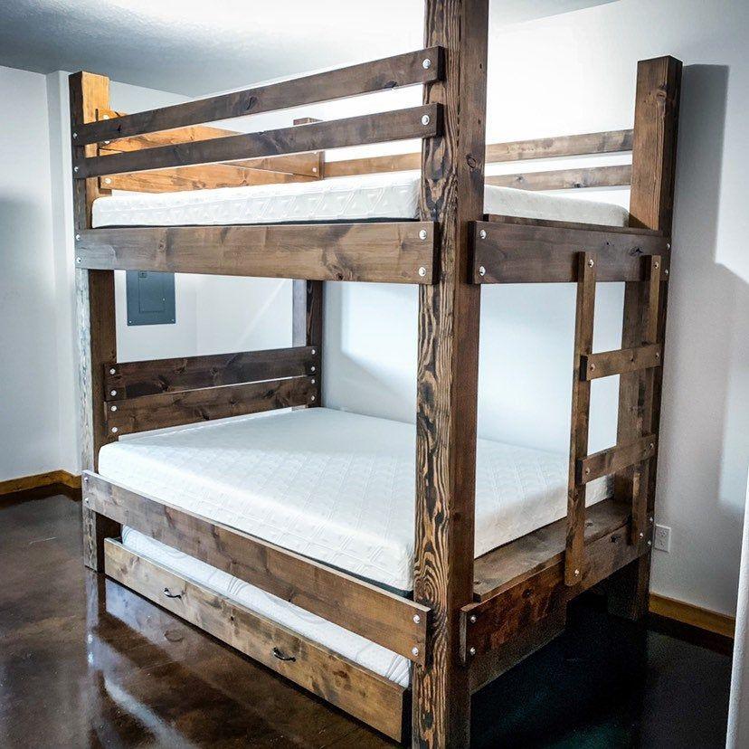 The BIG SKY Bunk Beds. Loft Bed Bunk Bed Frame Full Bed