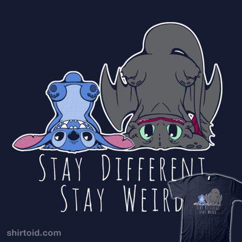 Stitch stay weird