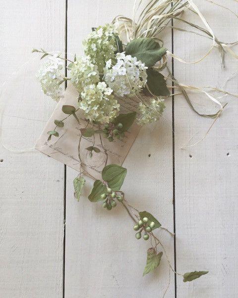オールドローズとピンクアナベル の画像 アトリエdeco日記 画像あり 押し花 フラワークラフト 手作りの花