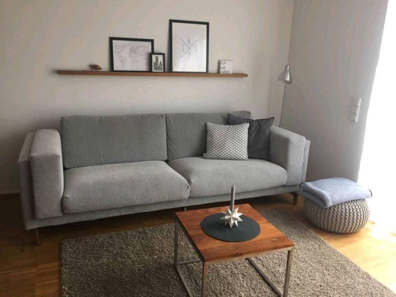 hallo wir verkaufen unser ikea nockeby 3er sofa wir haben ad hoc ein neues sofa gebraucht und. Black Bedroom Furniture Sets. Home Design Ideas