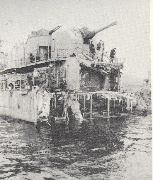 Les Thompson lost his destroyer during the Battle of Leyte Gulf in 1944 - http://www.warhistoryonline.com/war-articles/les-thompson-lost-destroyer-battle-leyte-gulf-1944.html