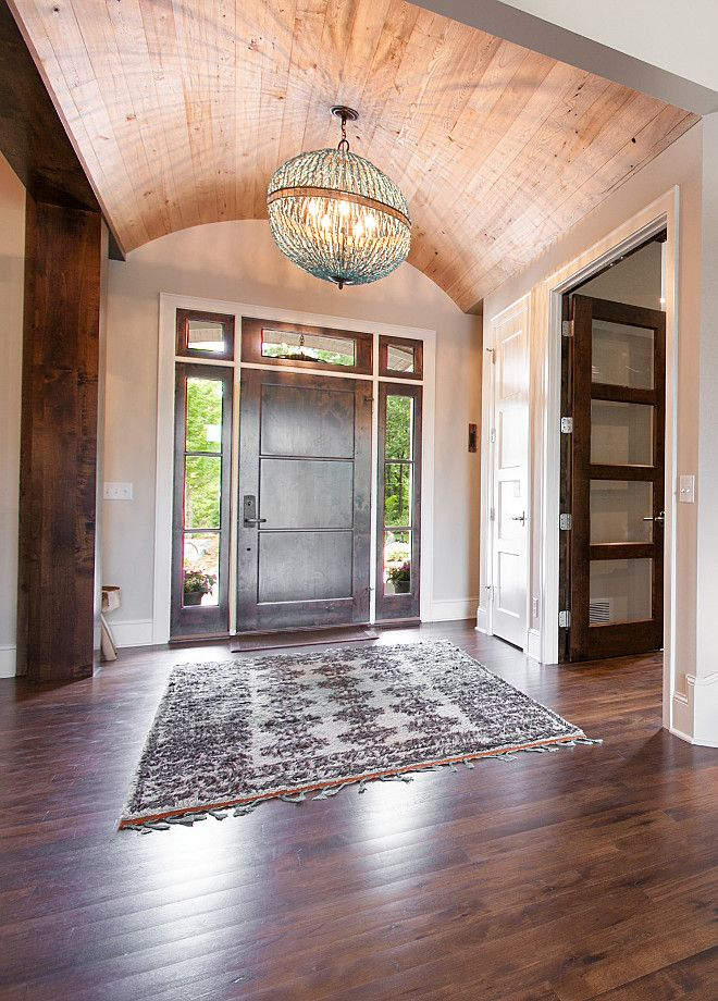 Interior Design Ideas Front Door Pinterest Barrel Ceiling
