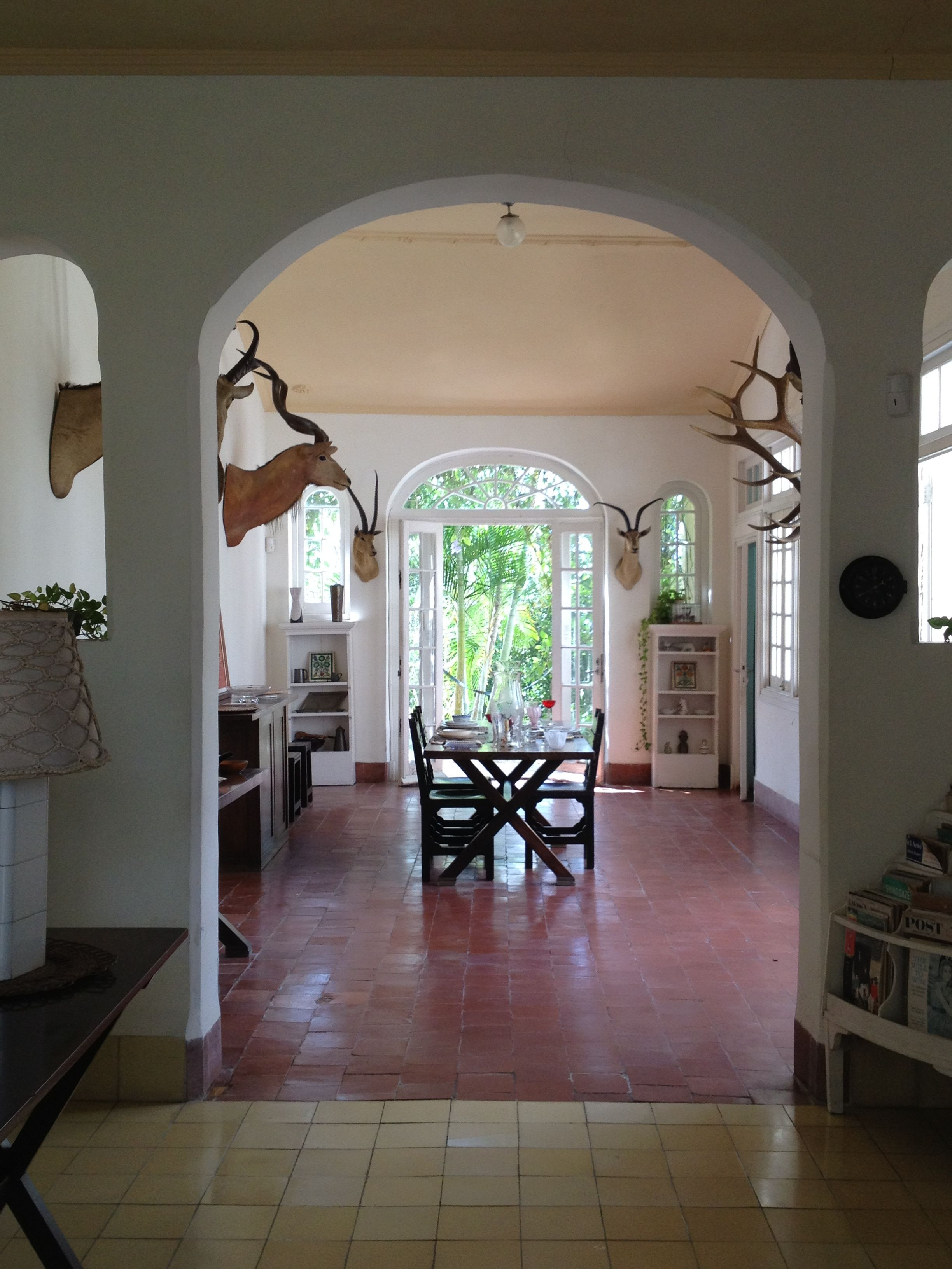 Hemingway's house in CUBA