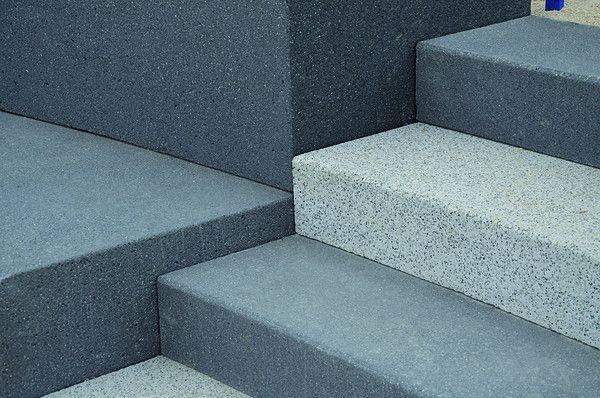 Bildergebnis Für Beton Treppenstufen Außen Anthrazit Außenanlagen - Gehwegplatten 50x50 anthrazit