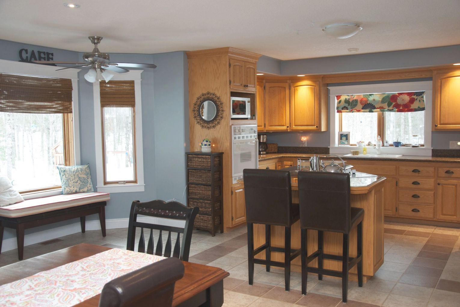 Best Blue Kitchen Oak Cabinets Blue Kitchen Walls Grey 400 x 300