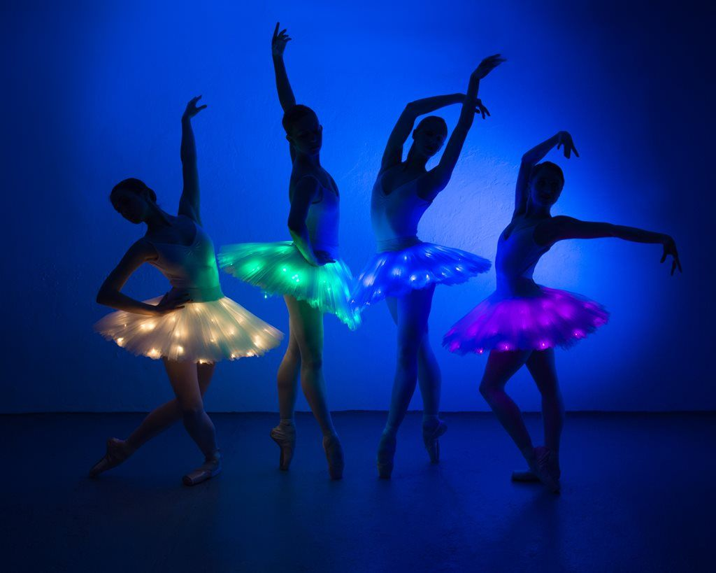2cb128ec4a Booking agent for LED Ballerinas - Modern Ballet Show in 2019 ...