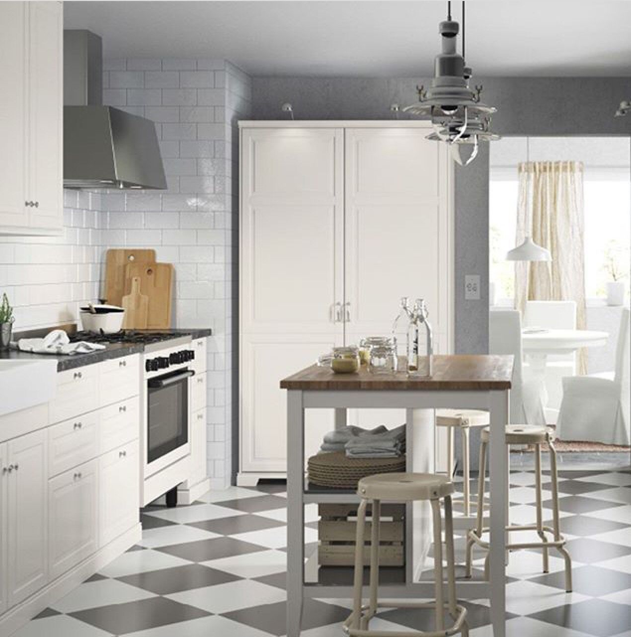 Ikea Suomi | Kitchen in bistrostyle | Pinterest | Kitchens