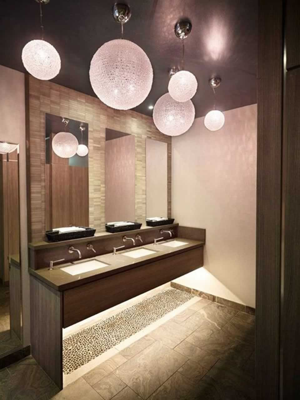 Bathroom interior design of sarcoa restaurant hamilton