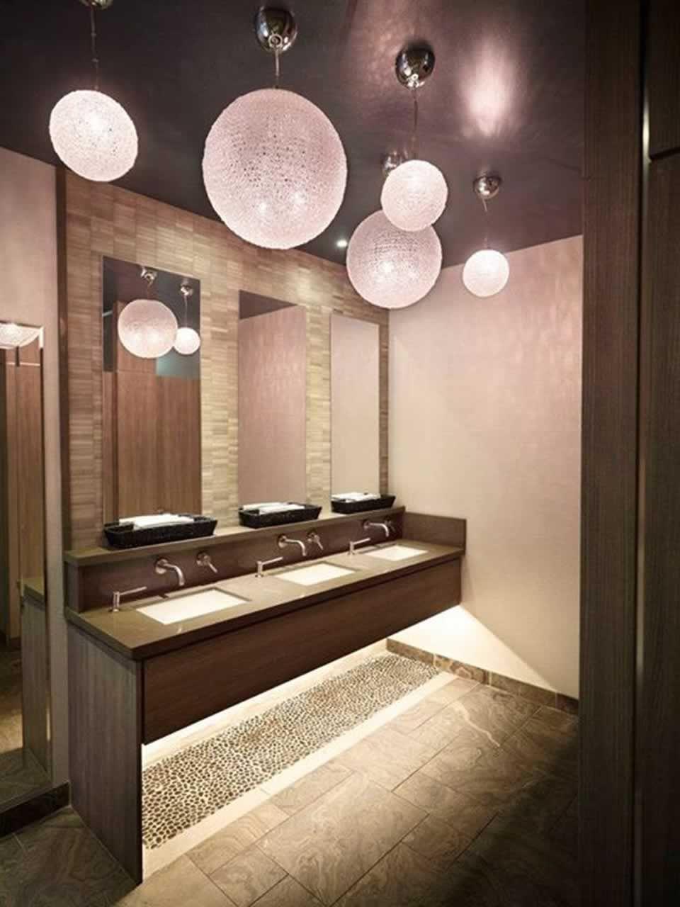 Bathroom Interior Design of Sarcoa Restaurant Hamilton