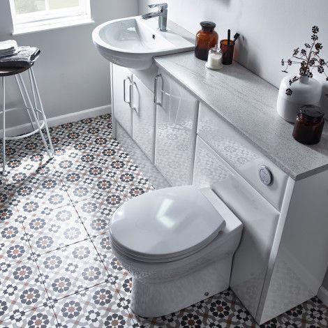 Capella White Fitted Bathroom Furniture Roper Rhodes Fitted Bathroom Furniture Fitted Bathroom Bathroom Furniture