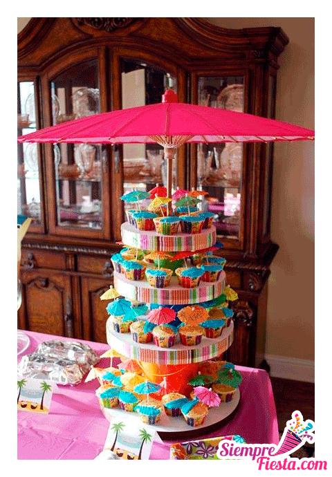 Incre bles ideas una fiesta de cumplea os hawaiana - Cosas para fiestas de cumpleanos ...