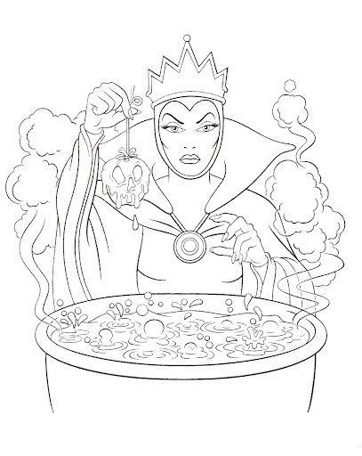 Disney Villains Coloring Pages Maleficent Google Search Disney Coloring Pages Snow White Coloring Pages Coloring Books