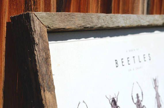 18x24 Rustic Reclaimed Wood - Barnwood Frame - Reclaimed Frame ...