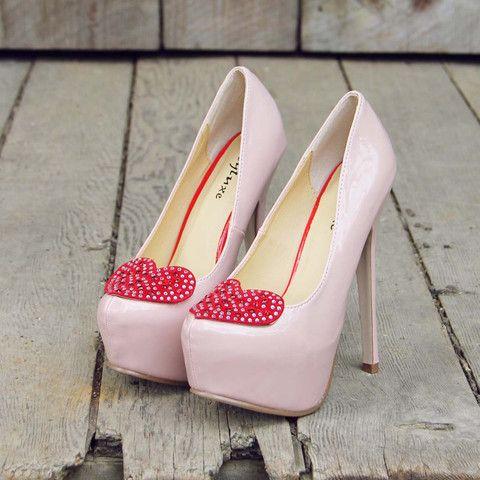 Stolen Hearts Heels: Featured Product Image