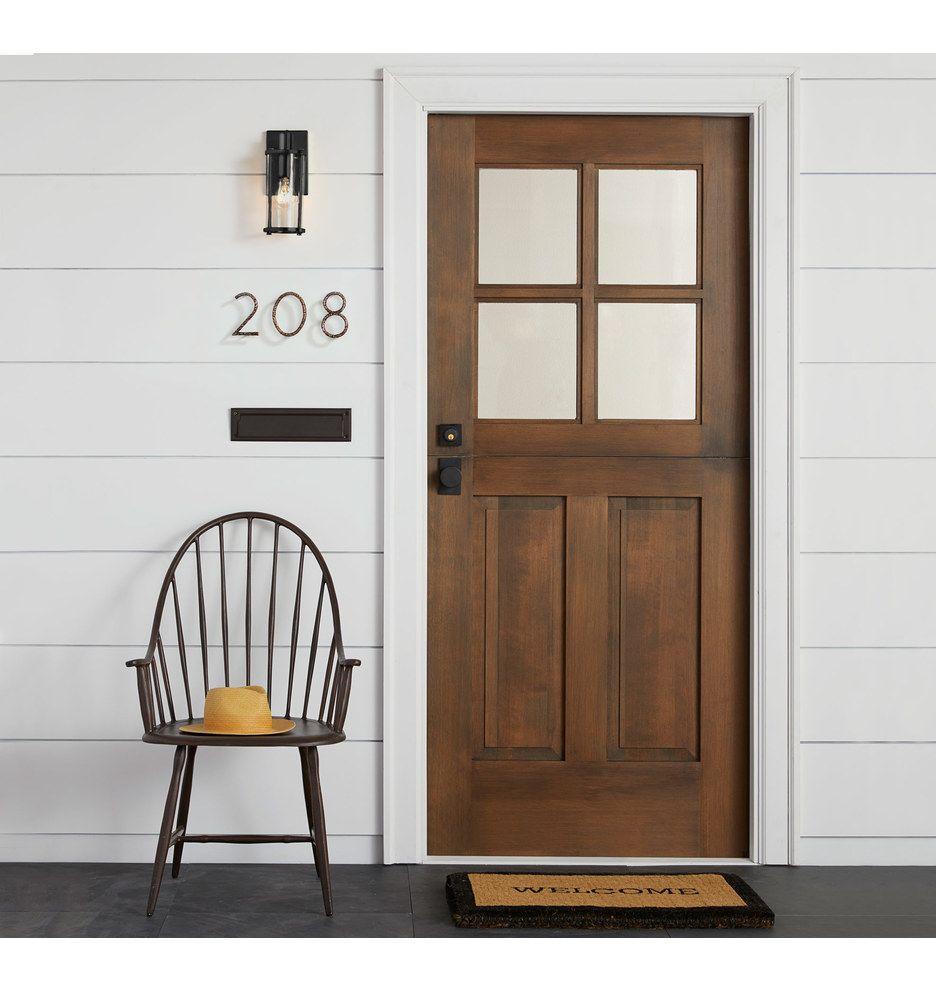Hyde Prehung Exterior Dutch Door 1 3 4 Solid Douglas Fir C9990
