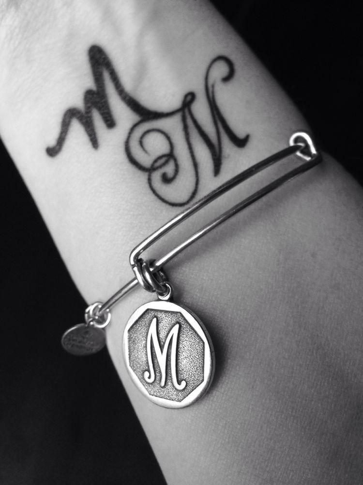 Pin By Jasmin Qamara On B N And More Alphabet Tattoo Designs M Tattoos Letter M Tattoos