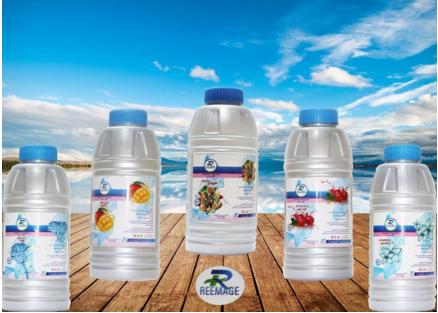 معطر ريماج لتر بروائح مختلفه خوخ ورد فراوله مانجو فل وياسمين فروتي Water Bottle Drink Bottles Gatorade Bottle