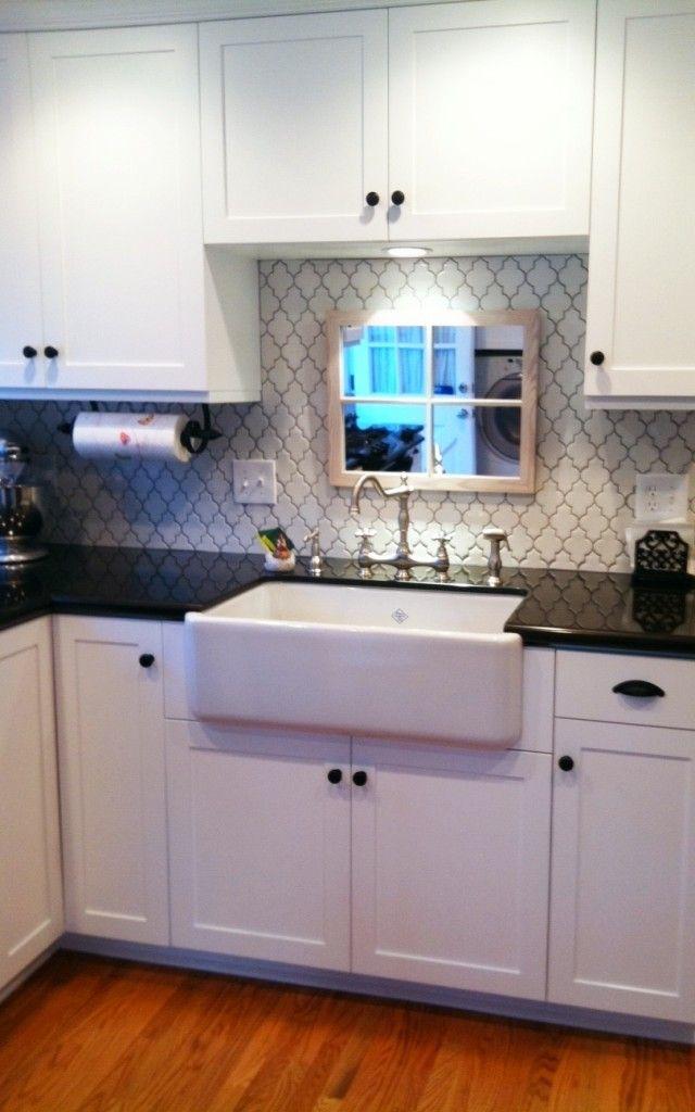 Love The Tile Kitchen Sink Decor Kitchen Sink Design Home