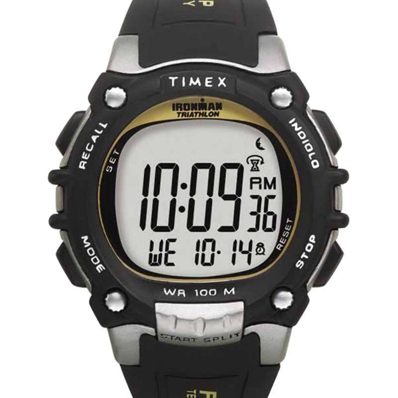 079974b41f71c Timex Mens T5E231 100-Lap Ironman FLIX System Watch