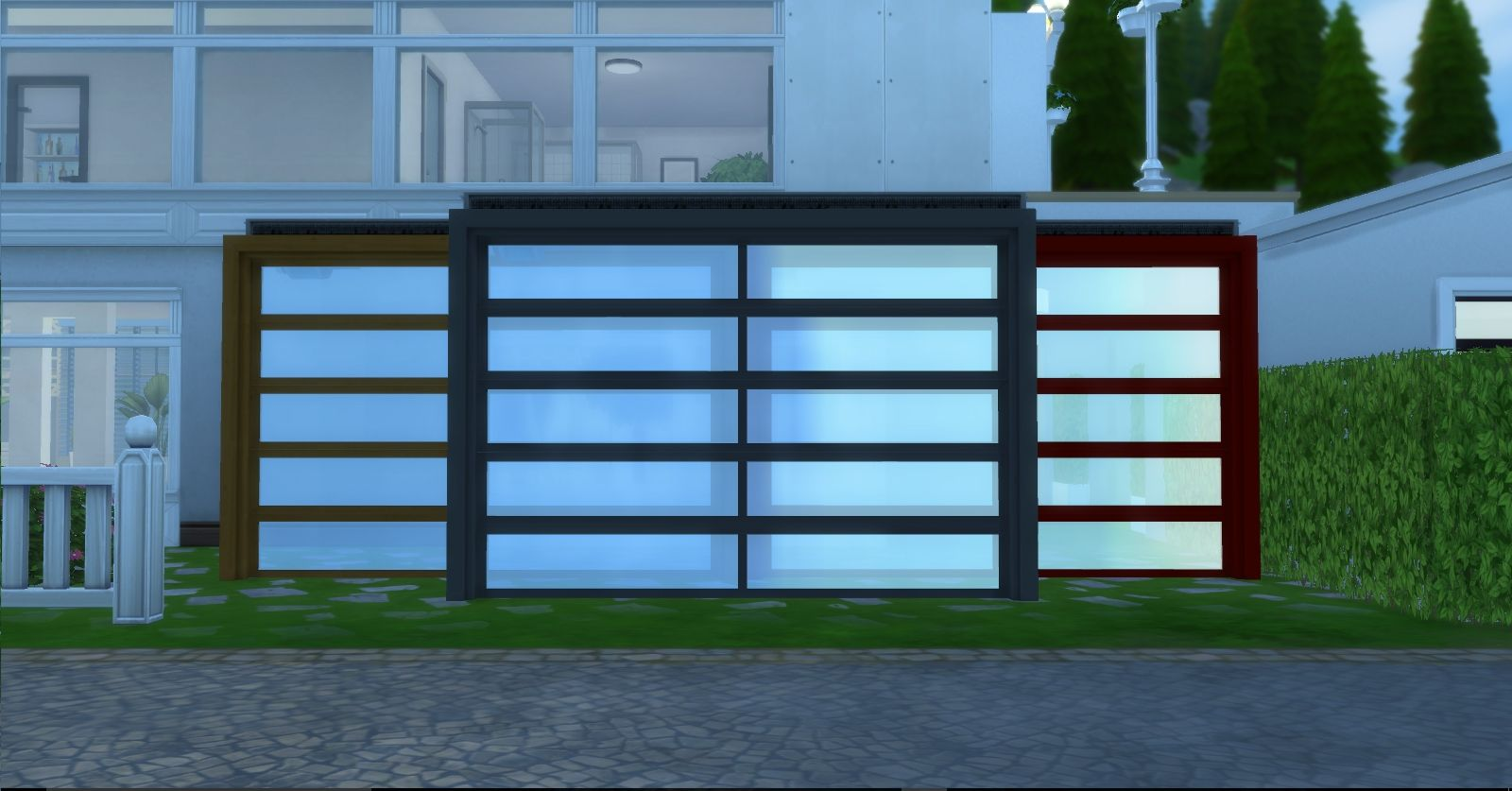 A Set Of Three Garages That Can Redefine Your House Build Sims 4 Houses Play Sims 4 Building A House