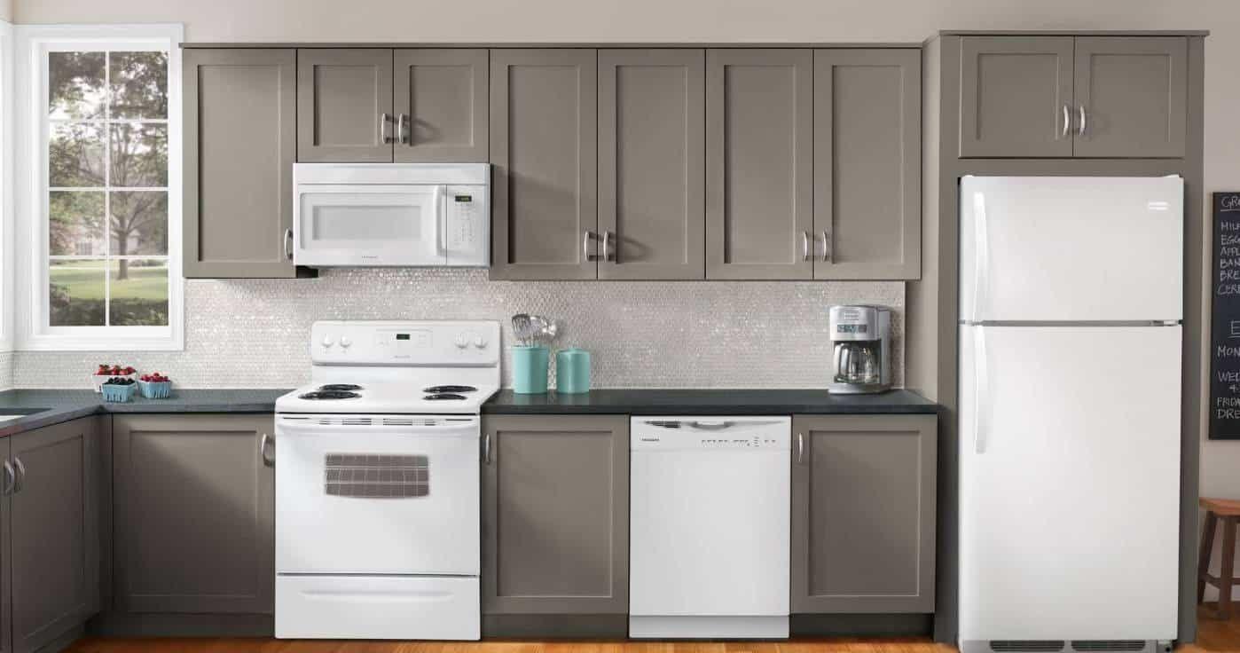 Kitchen , Kitchen Decorating With White Appliances ...
