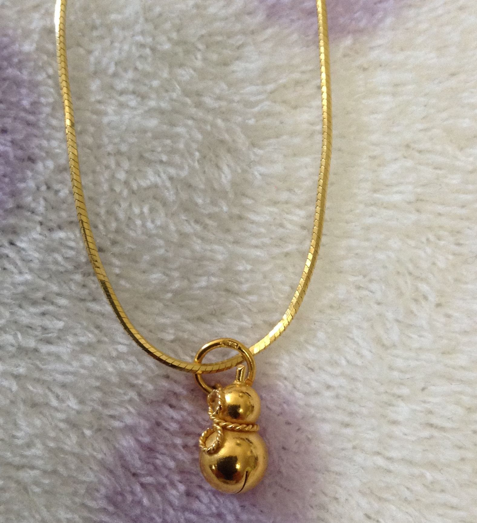 Poh heng singapore gold gourd pendant jewelry for Heng kunthea jewelry shop