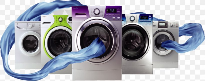 Washing Machine Midea Home Appliance Advertising Haier Png 1537x612px Washing Machines Air Cond Home Appliances Kitchen Appliances Design Appliances Design