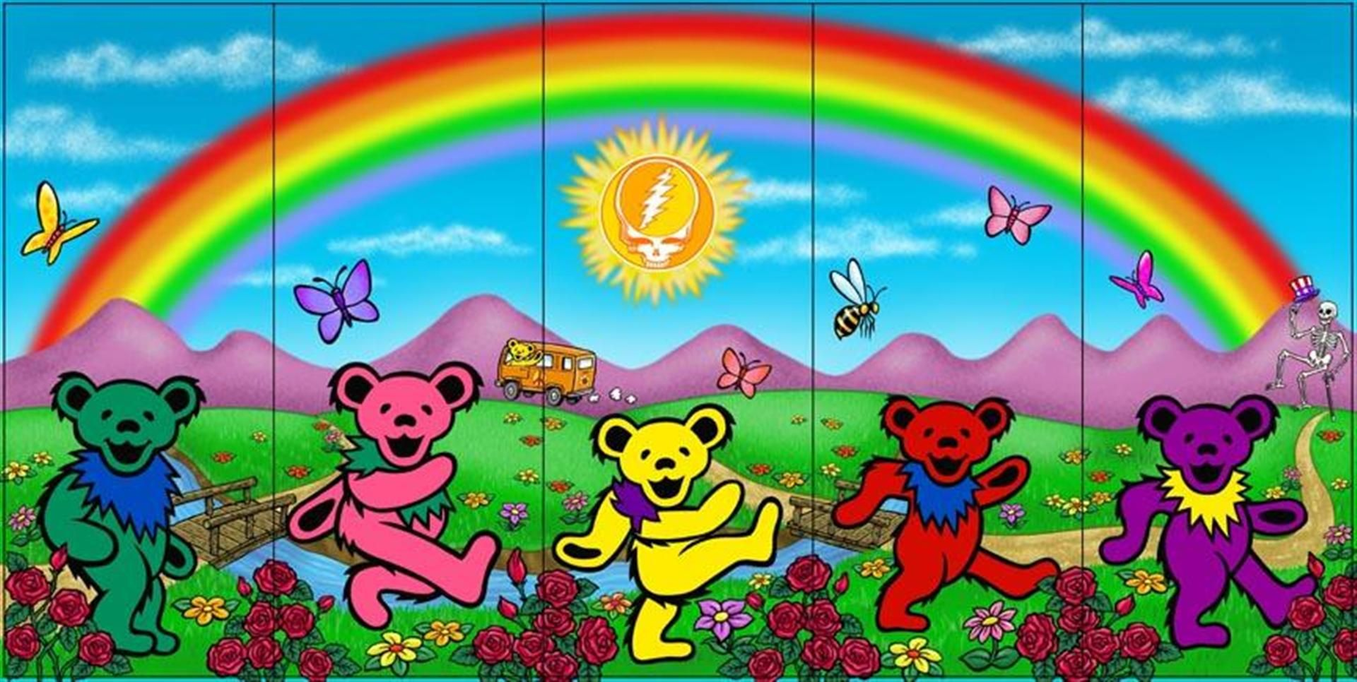 Grateful Dead Backgrounds Grateful Dead Wallpaper Grateful Dead Bears Grateful Dead Dancing Bears