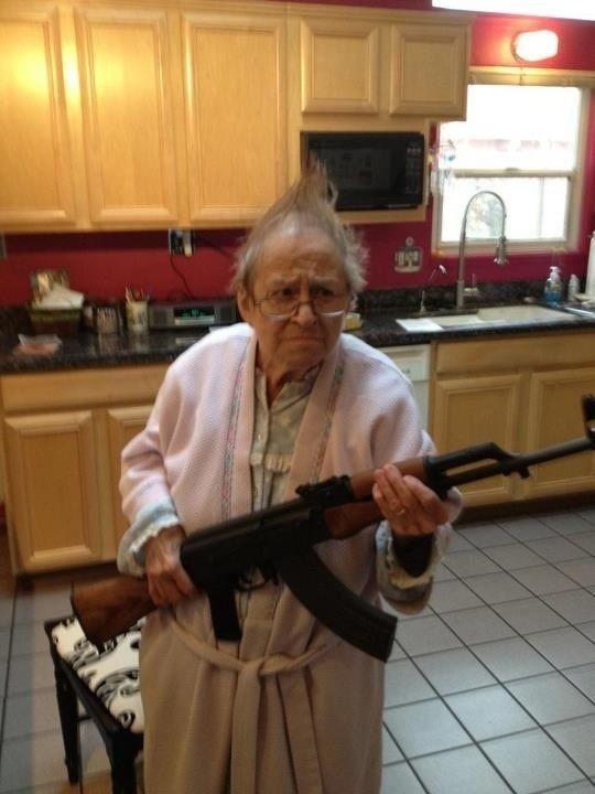 Granny Has A Gun 60