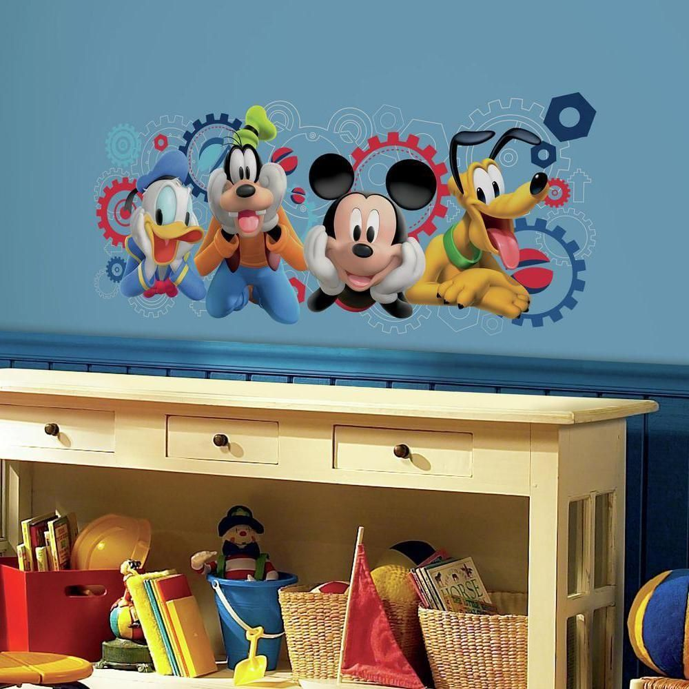 Mickey Mouse Clubhouse Capers Giant Wall Decals Mickey Mouse