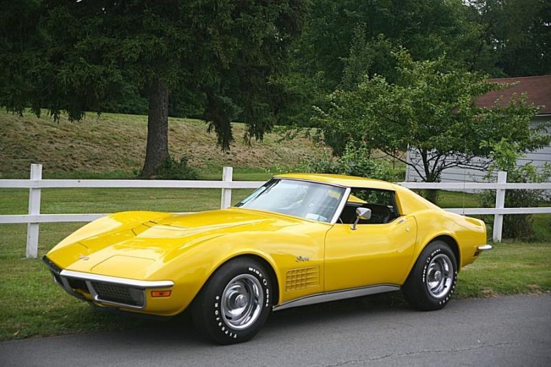 1971 Corvette Coupe For Sale In Pennsylvania 1971 Corvette Lt1