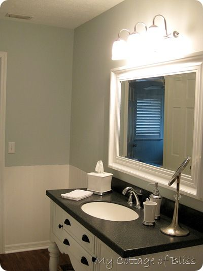 Favorite Paint Color Of The Month Winter In Paris Valspar - Valspar bathroom paint