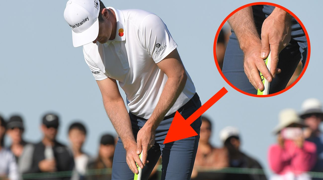 Justin Rose Found The Claw Putting Grip In 2016 Which Helped Propel Him To World No 1 And Multiple Victories Worldwide Justin Rose Golf Tips Golf