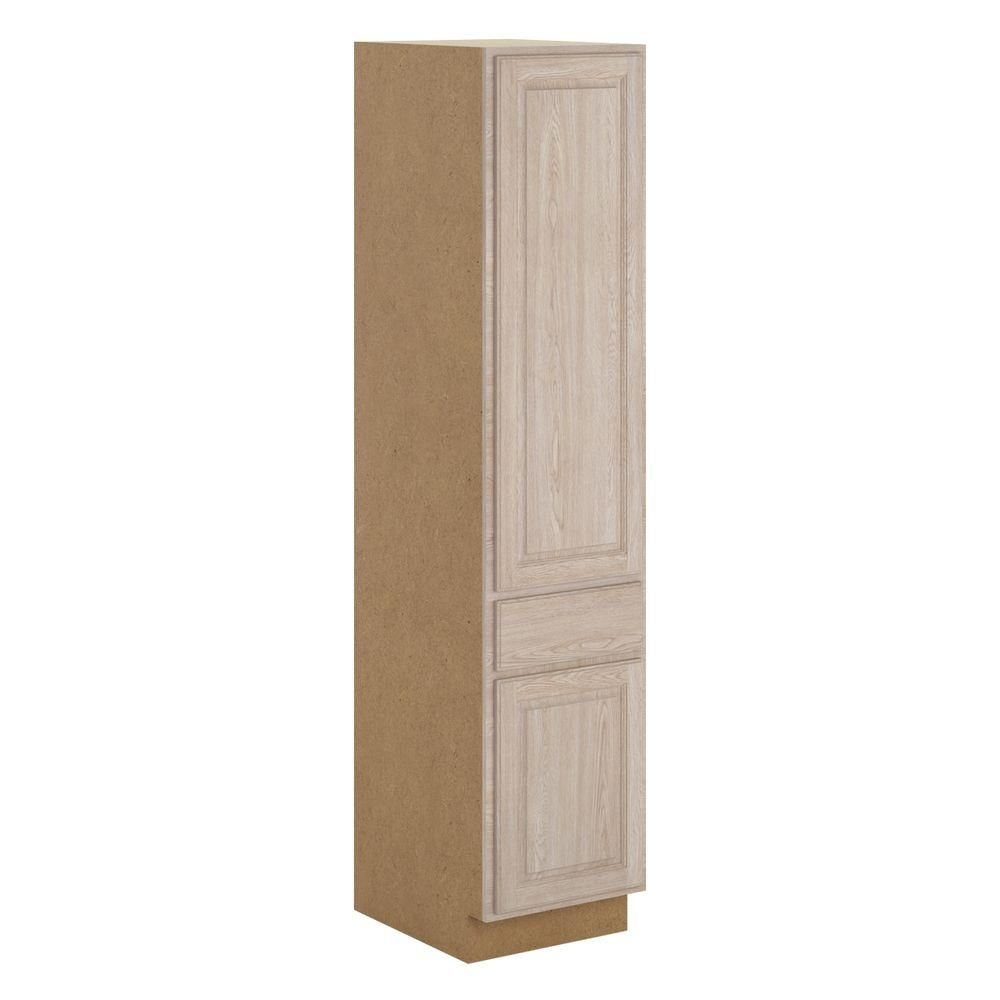 Best Hampton Bay Assembled 18X84X24 In Stratford 1 Drawer 640 x 480