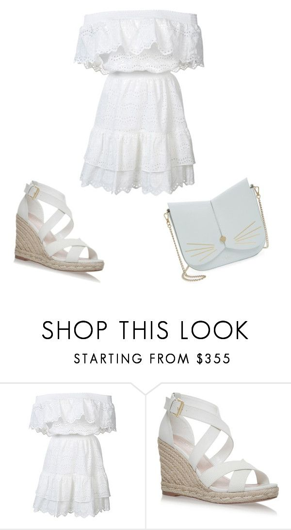"""""""Summer👒"""" by celia-ferreira-1 ❤ liked on Polyvore featuring LoveShackFancy, Ted Baker, casual and outfit"""