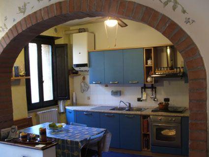 cucina con tinello arco - Cerca con Google | Idee casa | Pinterest ...