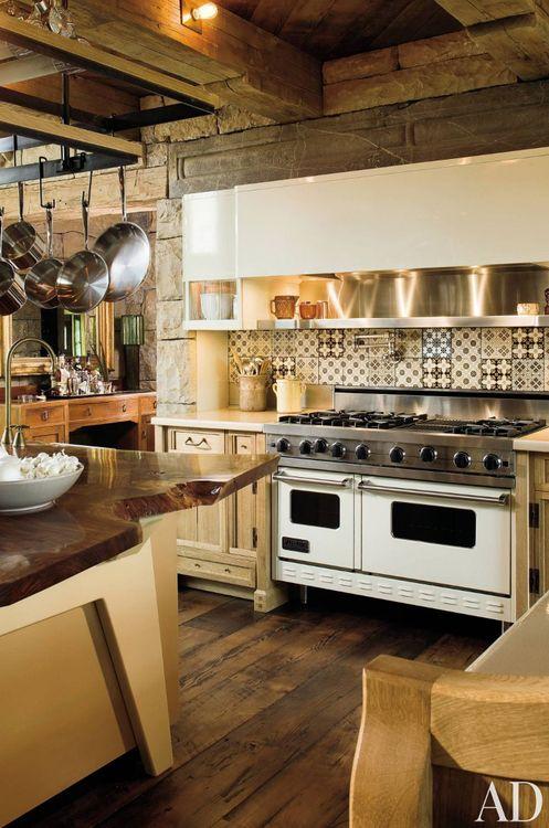 rustic touches kitchens Pinterest Kitchens, Beautiful kitchen