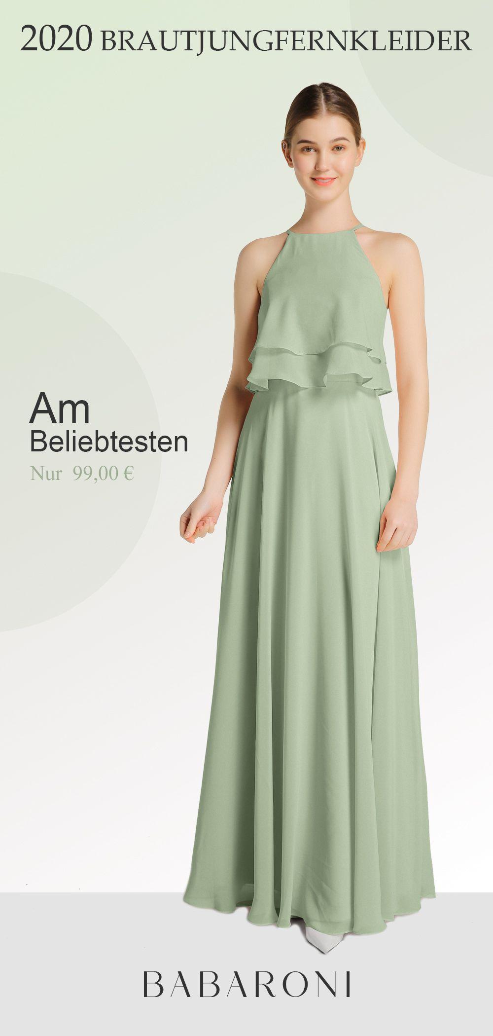 Babaroni Aveline In 2020 Brautjungfernkleid Kleider Langes Brautjungfernkleid