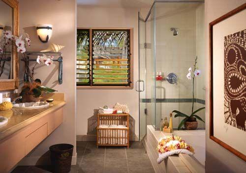 hawaiian interior decorating hawaii interior designer michele damico - Bathroom Remodel Hawaii