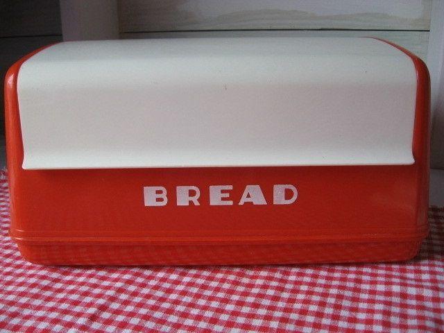 Vintage Bread Boxes Ebay - Invitation Samples Blog