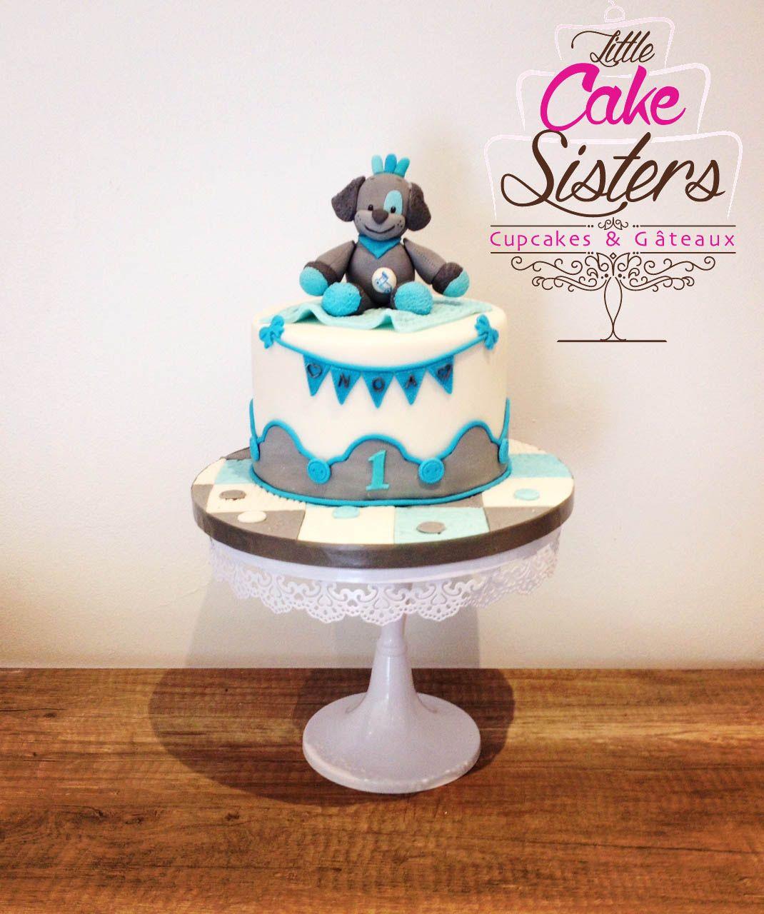 Gâteau doudou, cute cake, gâteau enfant, patchwork cake