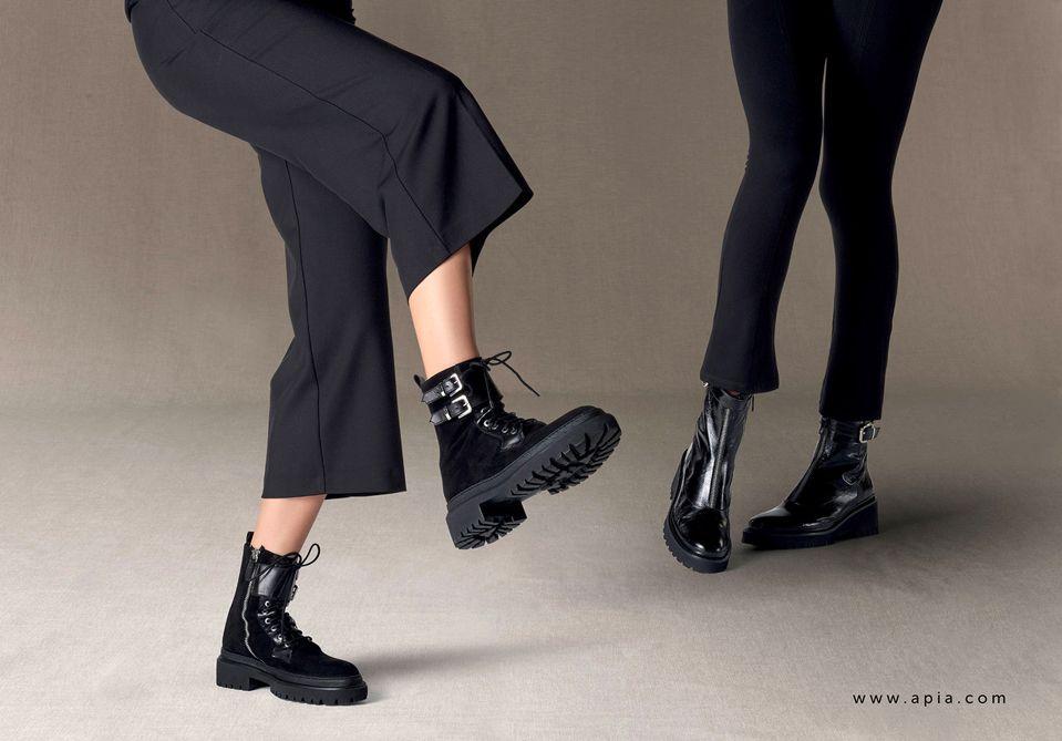 Trzewiki Damskie Apia Sznurowane Botki Ekskluzywne Glany Modne Trapery Trend Aw 19 20 Fashion Shoes Lookbook Shoes Fall Winter