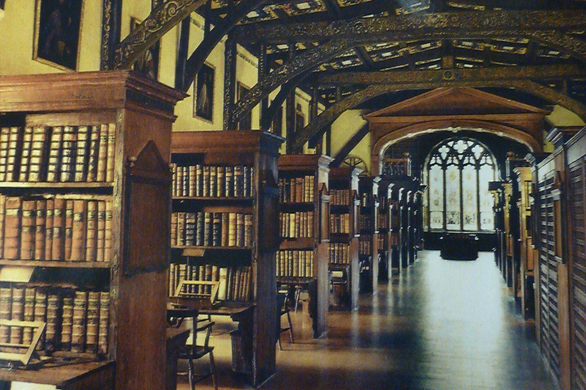 картинки хогвартса библиотека